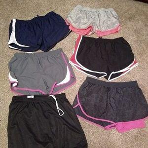 Pants - 6 pair ladies shorts